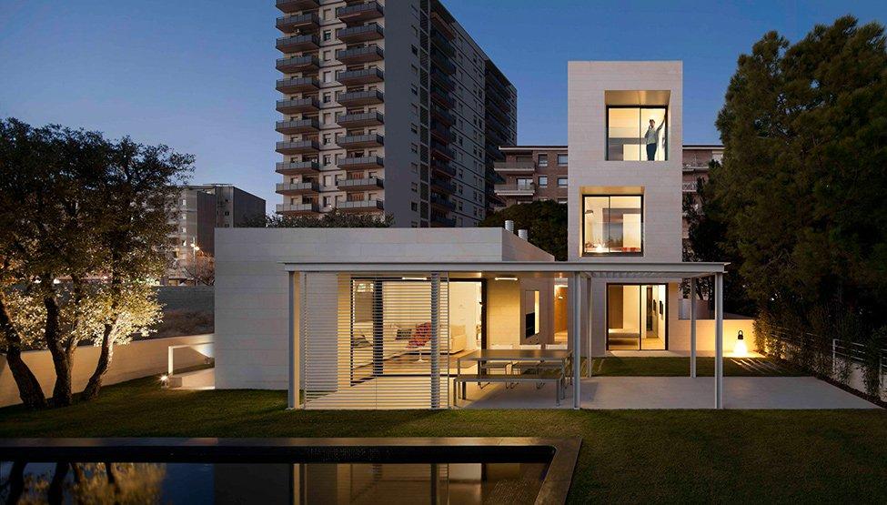 Fotos de casas minimalistas casas y fachadas - Casas minimalistas en espana ...