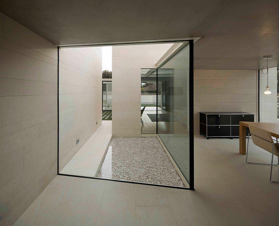 Casas blancas casas y fachadas for The minimalist house