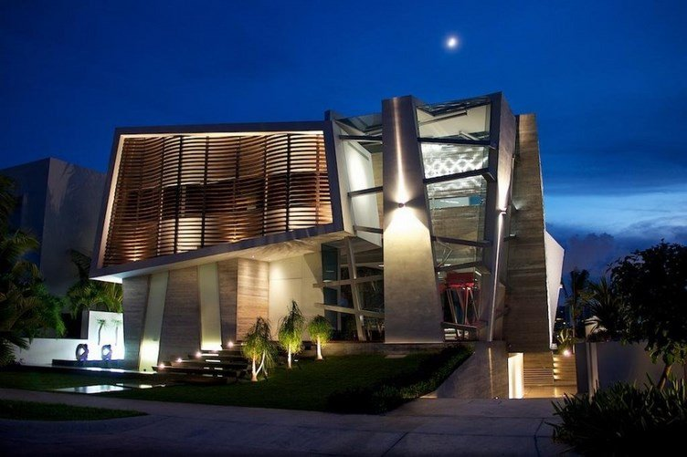 Fachadas vanguardistas casas y fachadas - Avant haus madrid ...