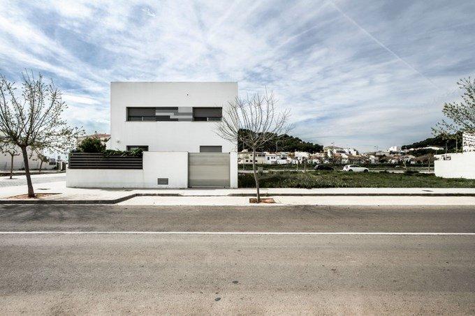 casa minimalista diseo en gris y blanco residencia v