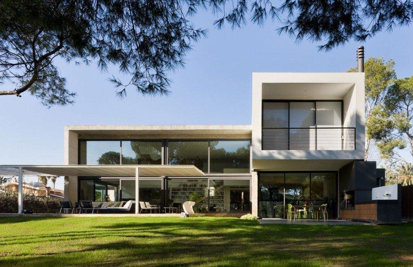 Fotos de casas de playa casas y fachadas for Casa minimalista 100 metros