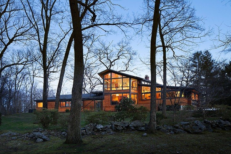 Casa Contemporánea estilo rancho en New York