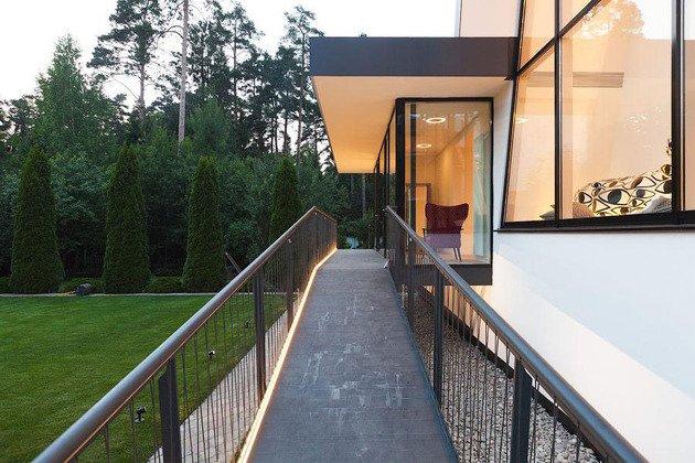 Casas modernas vivienda que conbina lo mejor de la for Casa moderna flooring