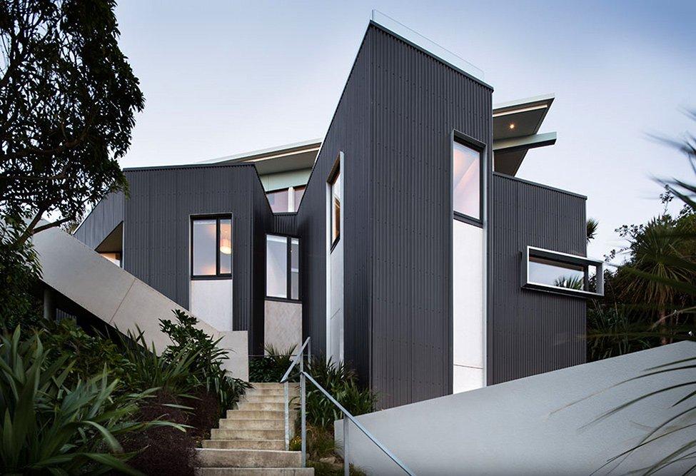 Casa con impresionantes vistas del puerto en Nueva Zelanda Casa Seatoun Heights