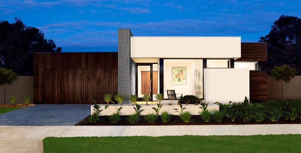 Planos de casas de un piso fachadas y planos de 10 for Fachada de casa moderna de un piso