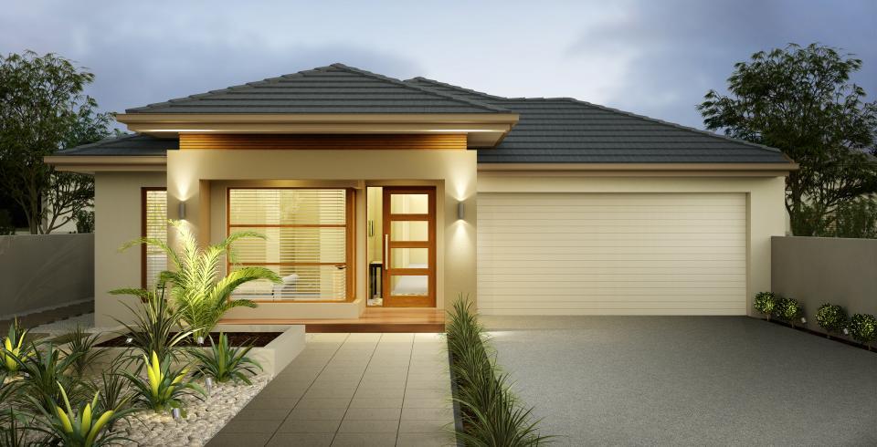 Planos de casas de un piso fachadas y planos de 10 modelos de casas de un piso casas y fachadas - Fachadas de casas de un piso ...