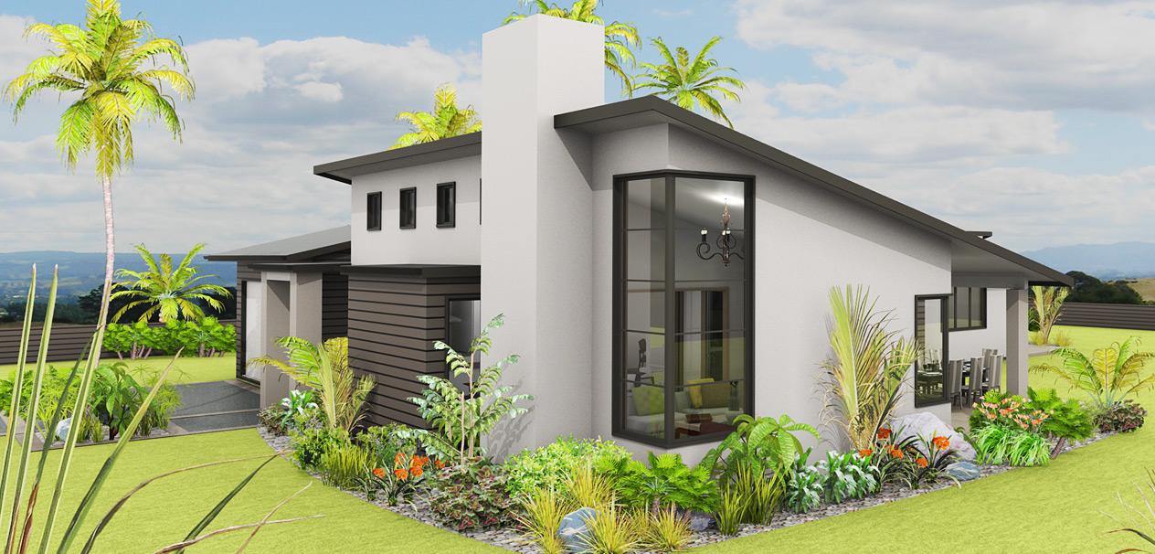 Planos de casas de un piso fachadas y planos de 10 for Los mejores techos de casas