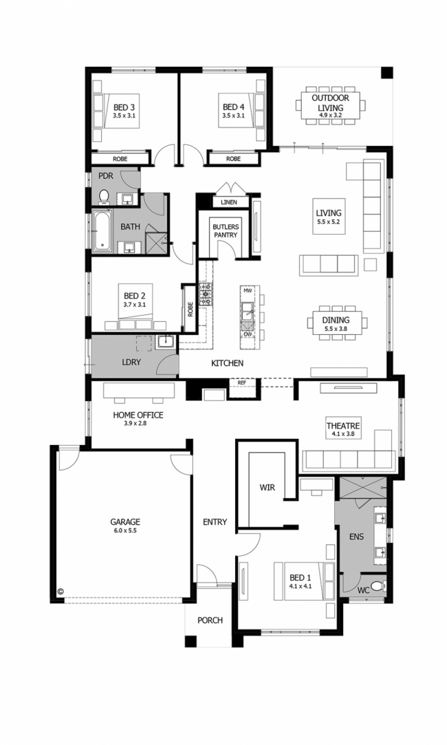un piso plano 6