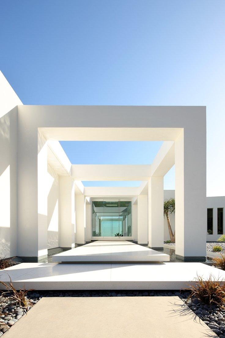 Fachadas modernas casas y fachadas for Casa moderna 11