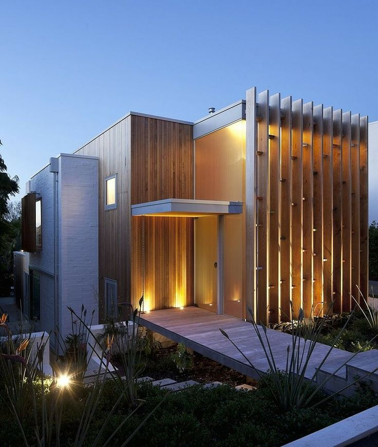 fachada de casa moderna 11