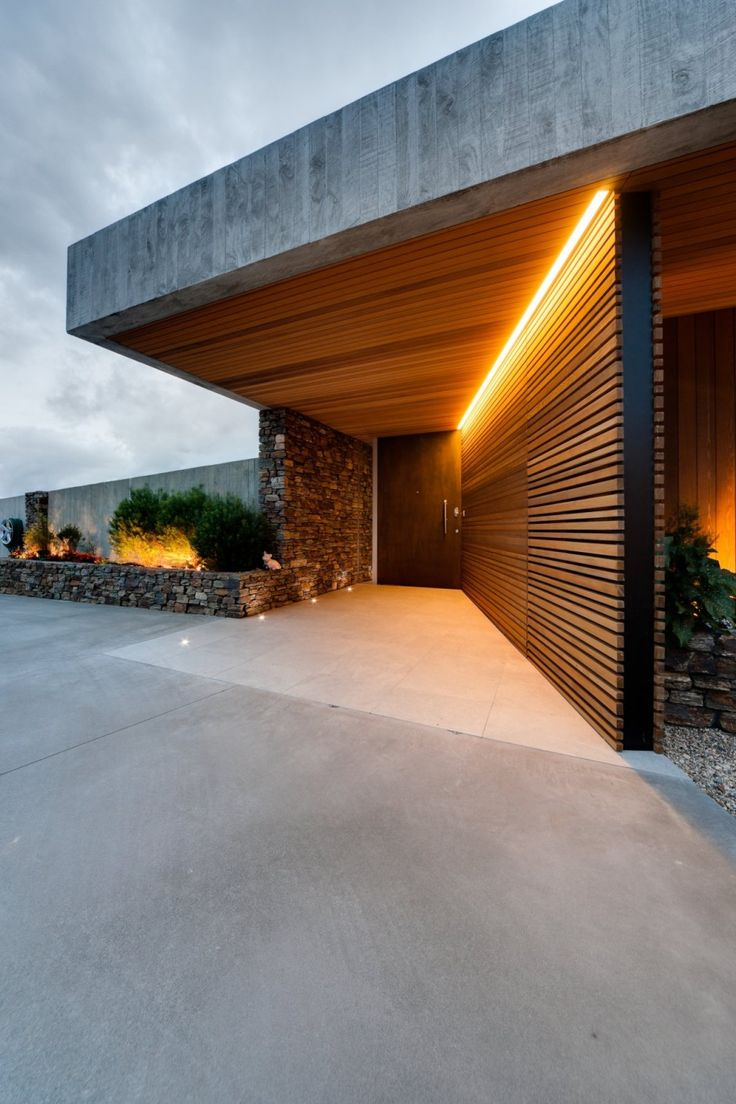 fachada de casa moderna 13