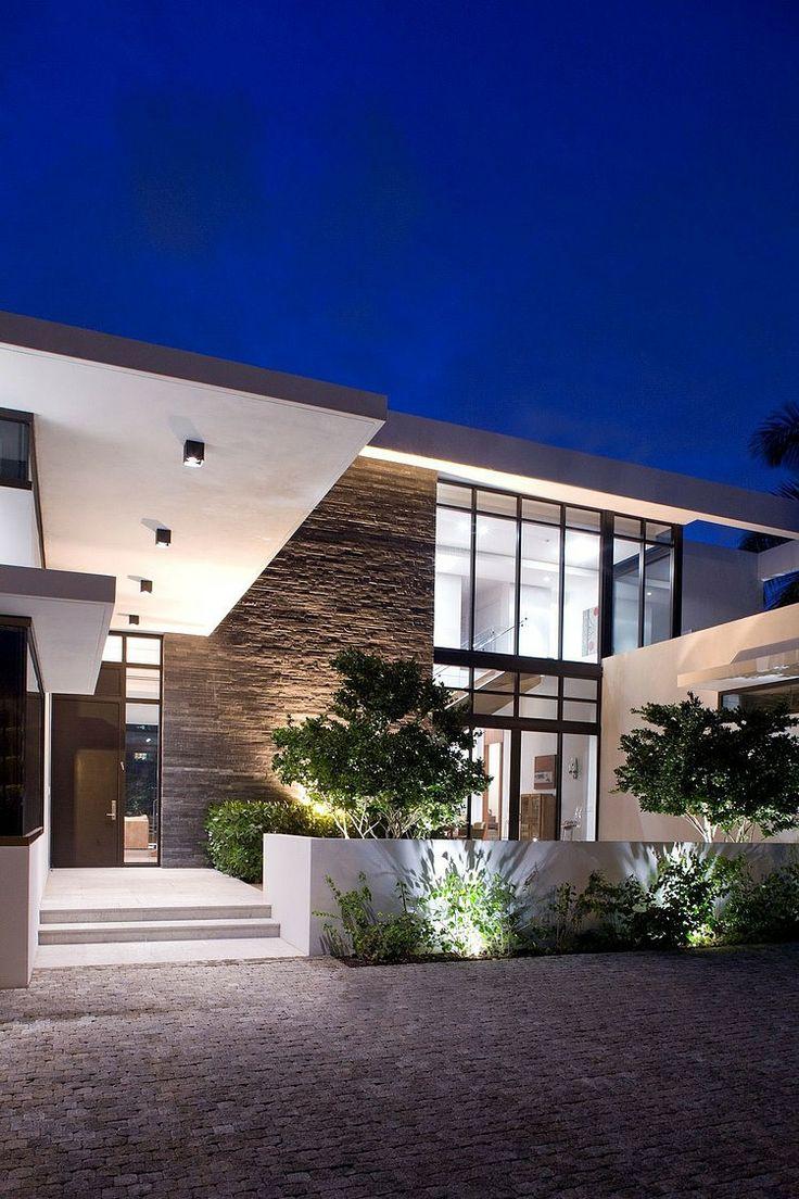 fachada de casa moderna 14