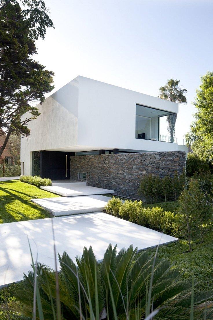 fachada de casa moderna 20