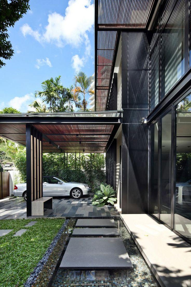 fachada de casa moderna 30