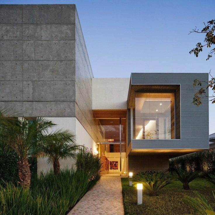 fachada de casa moderna 31
