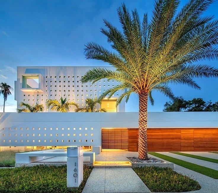 fachada de casa moderna 35