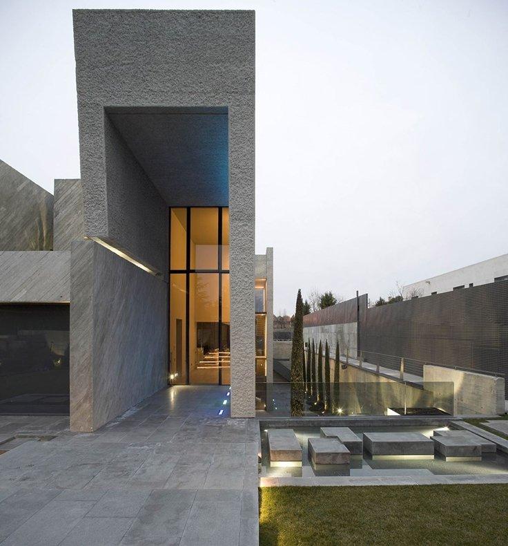 fachada de casa moderna 4