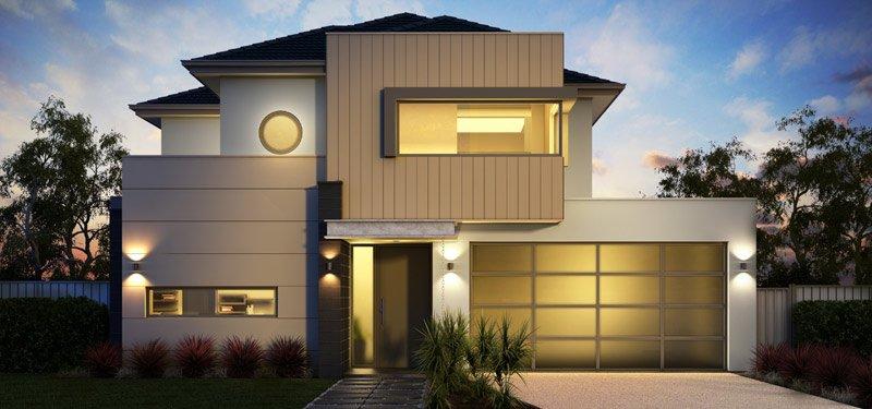Fachadas modernas casas y fachadas for Fachadas de viviendas modernas