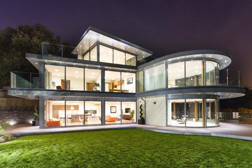Fachadas modernas casas y fachadas for Casa moderna y lujosa