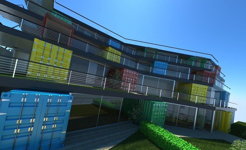 casas contenedor de carga 13