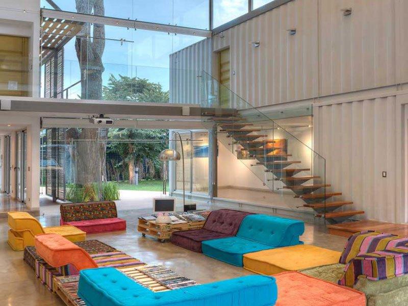 15 bien dise adas fachadas de casas prefabricadas con - Casa de contenedores ...