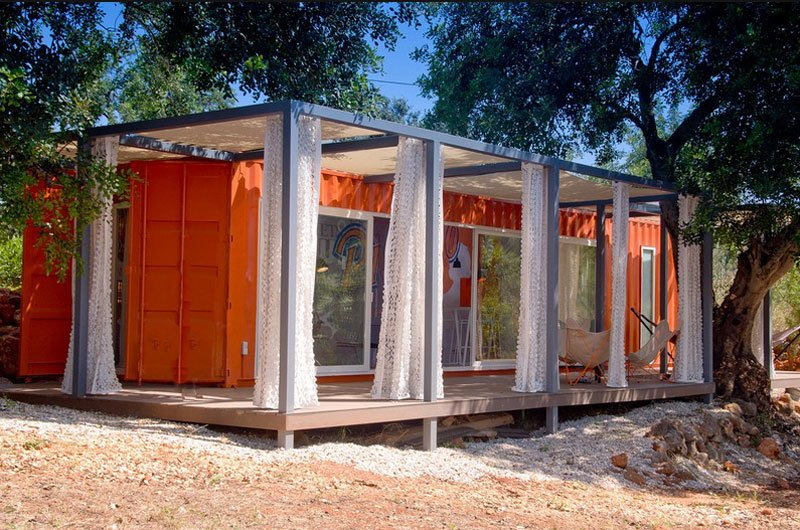 15 bien dise adas fachadas de casas prefabricadas con contenedores de carga casas y fachadas - Casas prefabricadas de contenedores ...
