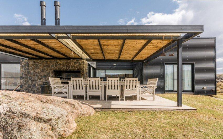 Casas de campo contemporanea en argentina casas y fachadas for Terrazas de campo