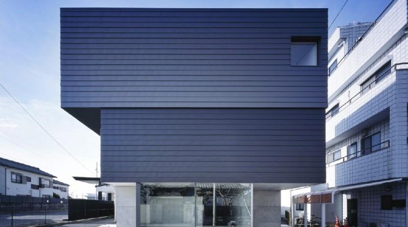 Casa japonesa minimalista mitad hogar y mitad galeria de for Casa minimalista japonesa