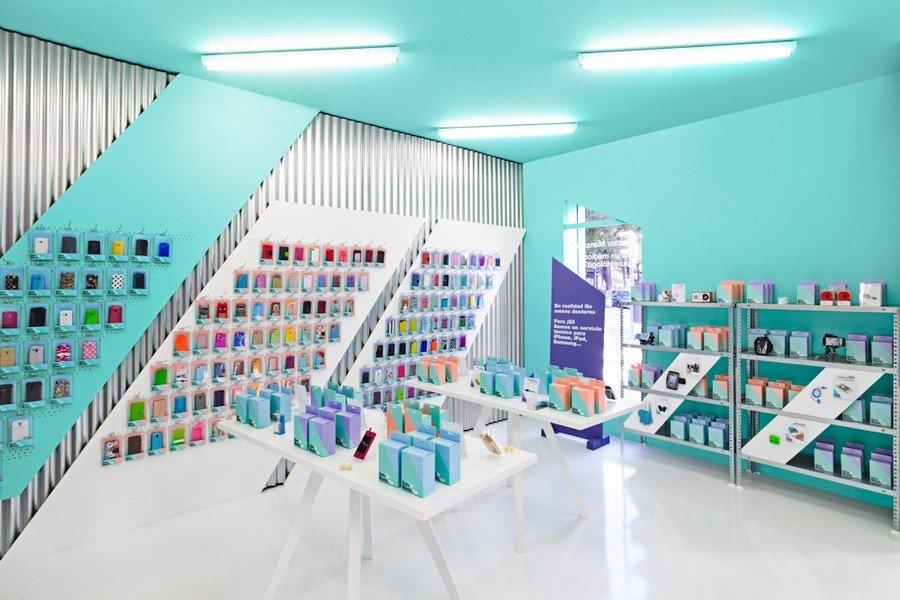 Smartphone-store-design
